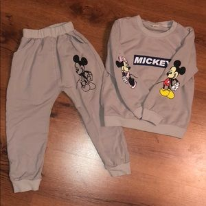 Other - Mickey sweatsuit 4T